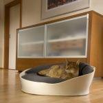 Покупной лежак для кошки