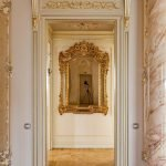Декор арки под золото