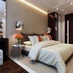 Двери венге в спальне