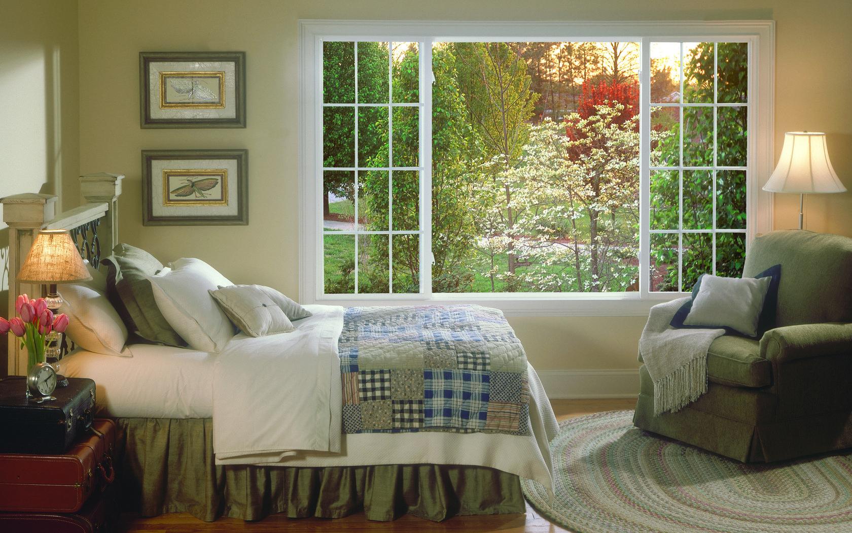 Картинка окно в комнате