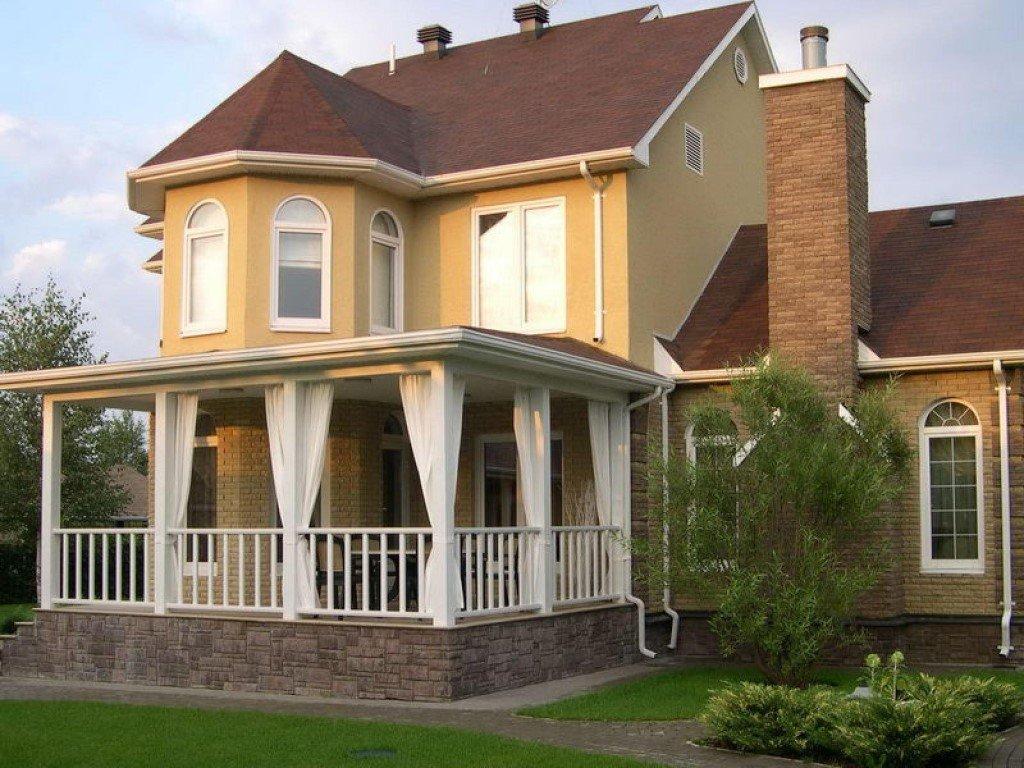 нарезать крыльцо с балконом для частного дома фото также ряжским