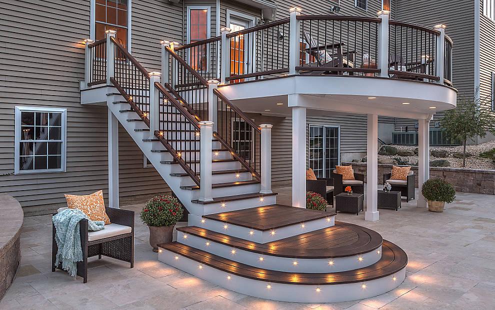 лестницы на крыльце в частном доме фото