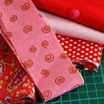 Полоски ткани