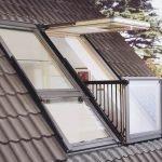 Окно с раскладным балконом