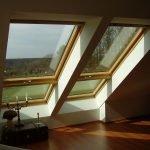 Широкие окна