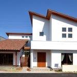 Вариант односкатной крыши над мансардой