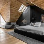 Гармоничное использование неровного потолка