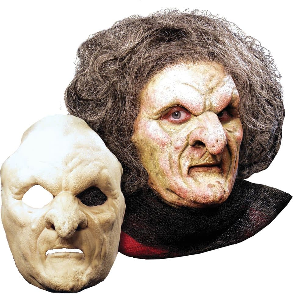 Объемная маска на хэллоуин