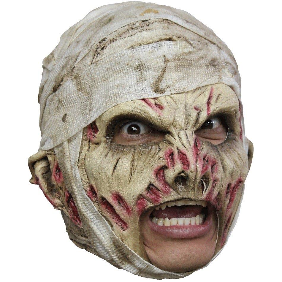 Маска на хэллоуин из бинтов