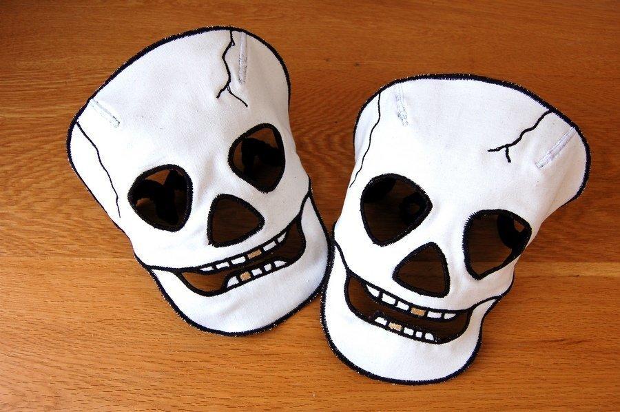 Как сделать маску для хэллоуина