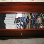 Ящик для белья и галстуков