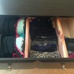 Способ хранения белья в ящике