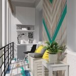 Влагостойкий ламинат на балконе