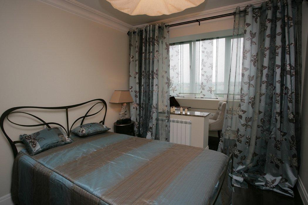 Балкон совмещен со спальней