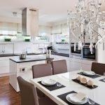 Столовая с кухней