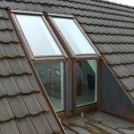 Окна встроенные в крышу