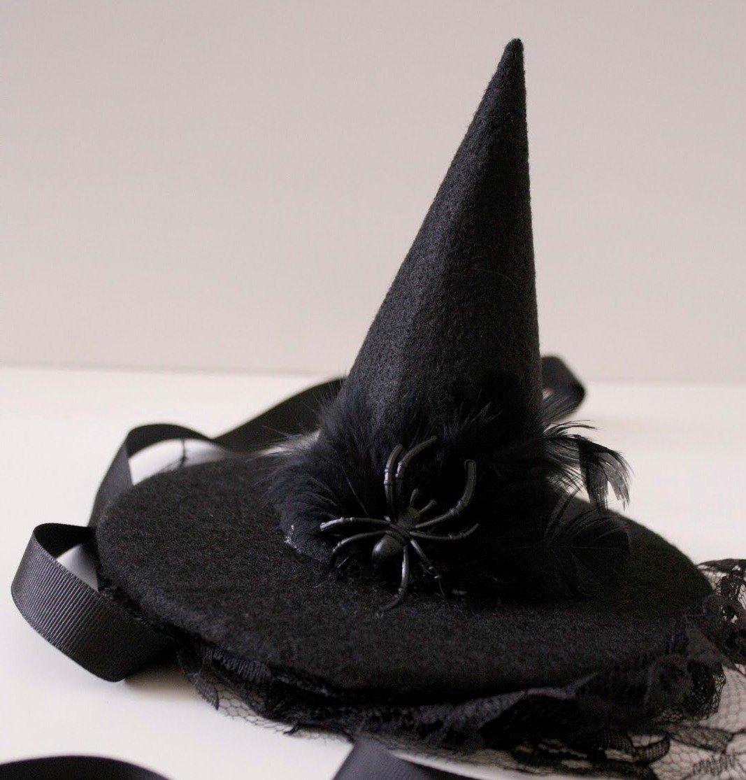 Шляпа ведьмы из фетра