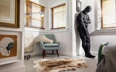 Скульптура в современном интерьере