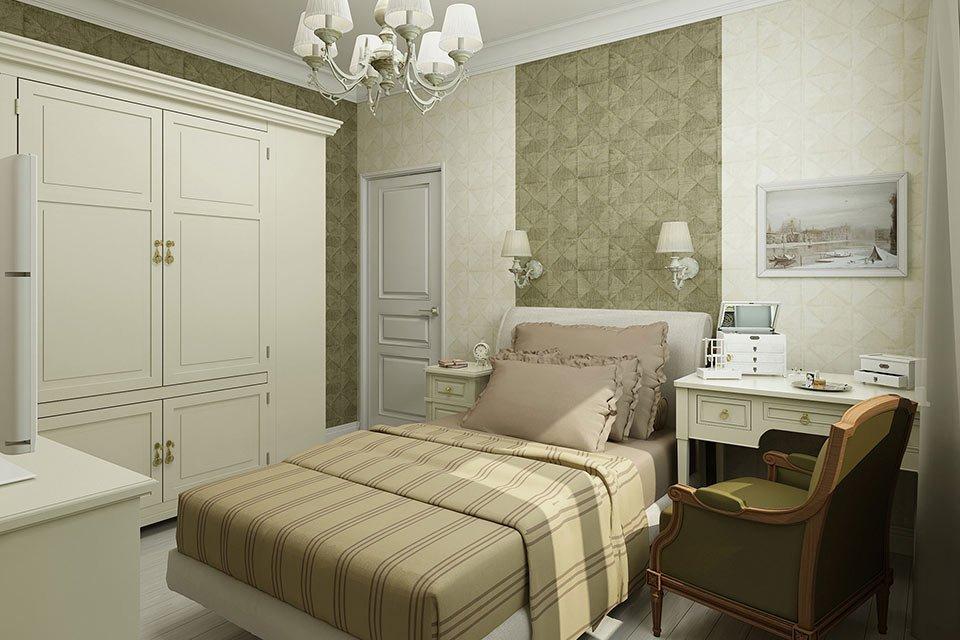 Спальня в стиле сталинский ампир