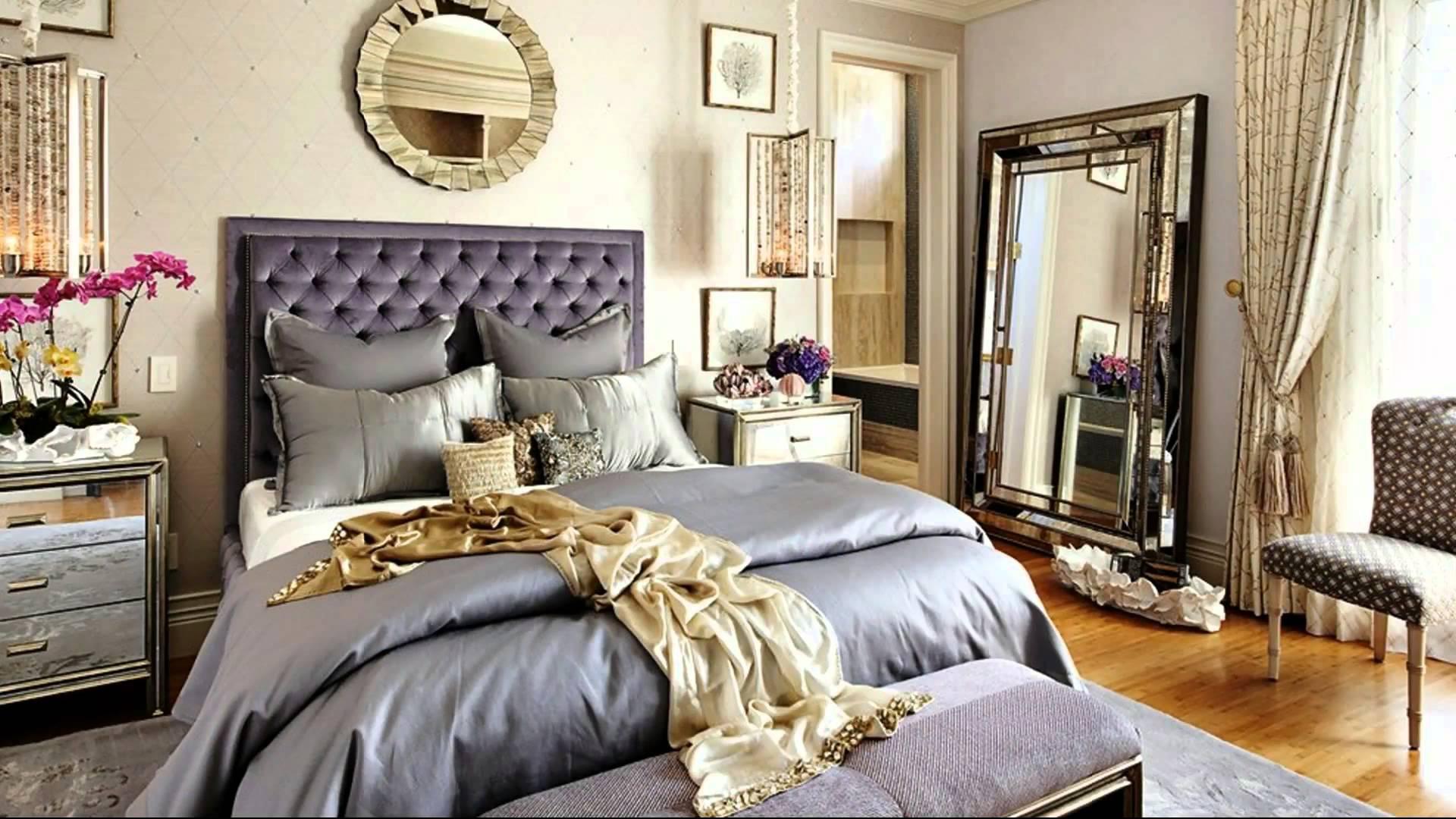 Спальня св стиле гламур