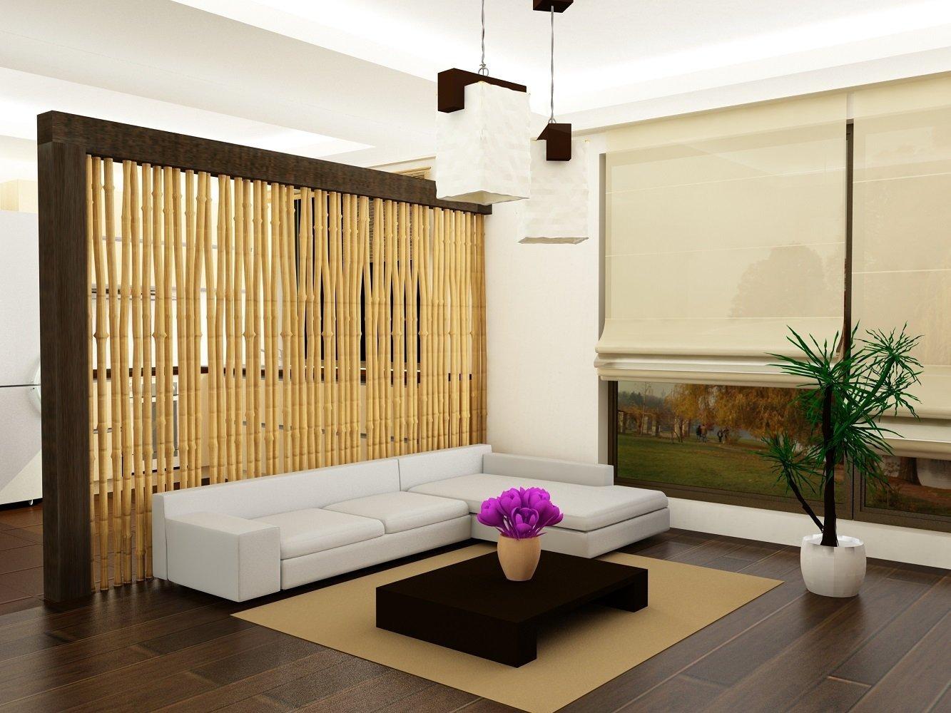 Бамбук в стильном интерьере