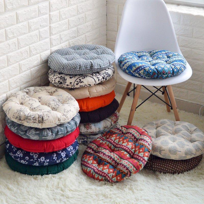 Сидушки на круглые стулья