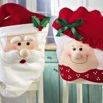 В виде Санта Клауса