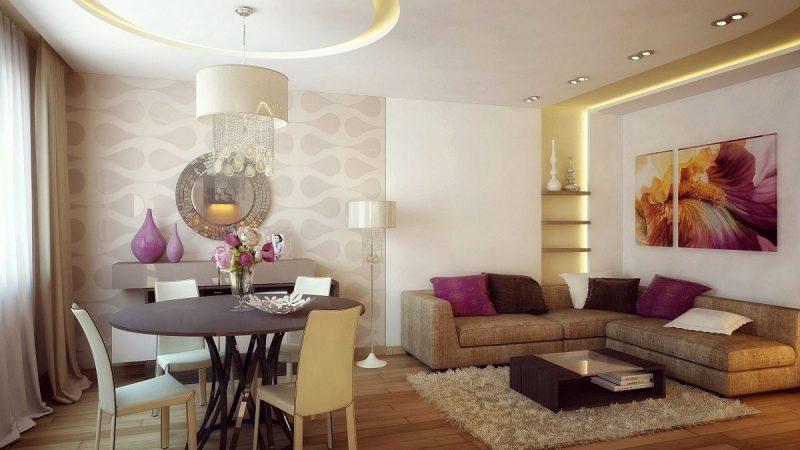 Дизайн квартиры для молодой девушки