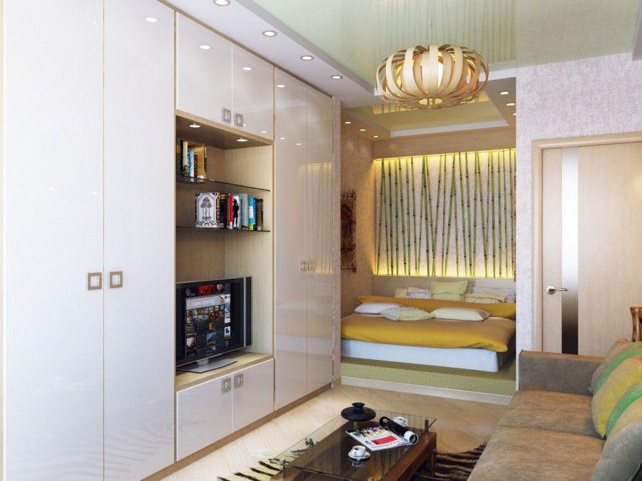 Современный дизайн однокомнатной квартиры - фото примеры