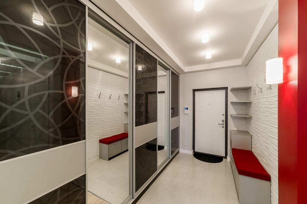 Дизайн прихожей в частном доме - обустройство и фото идеи