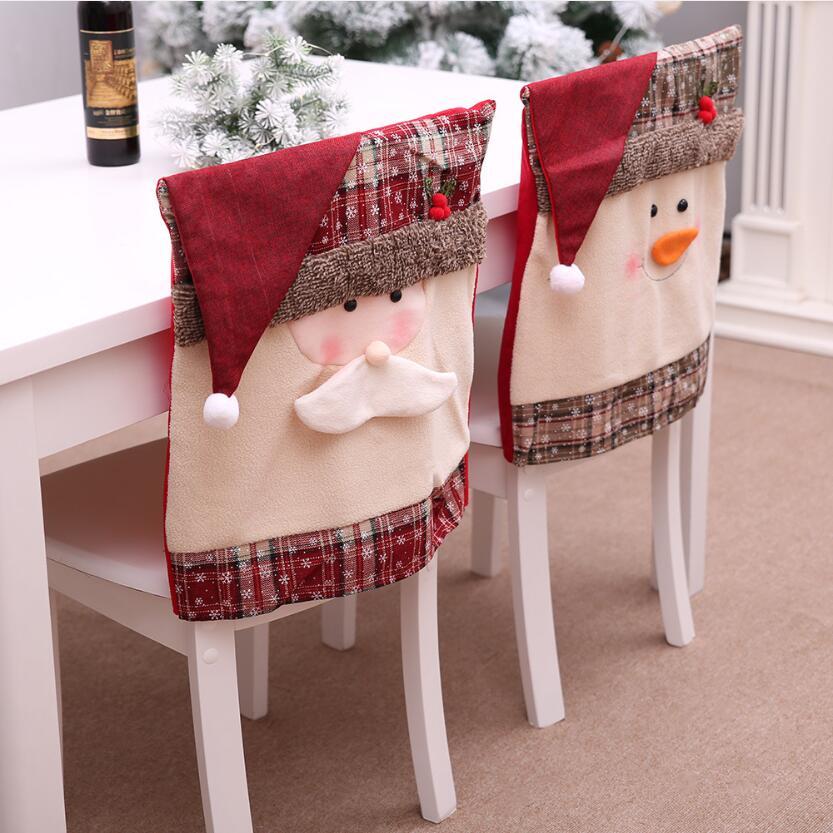 Дед мороз и снеговик из ткани