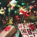 Место для подарков под ёлкой
