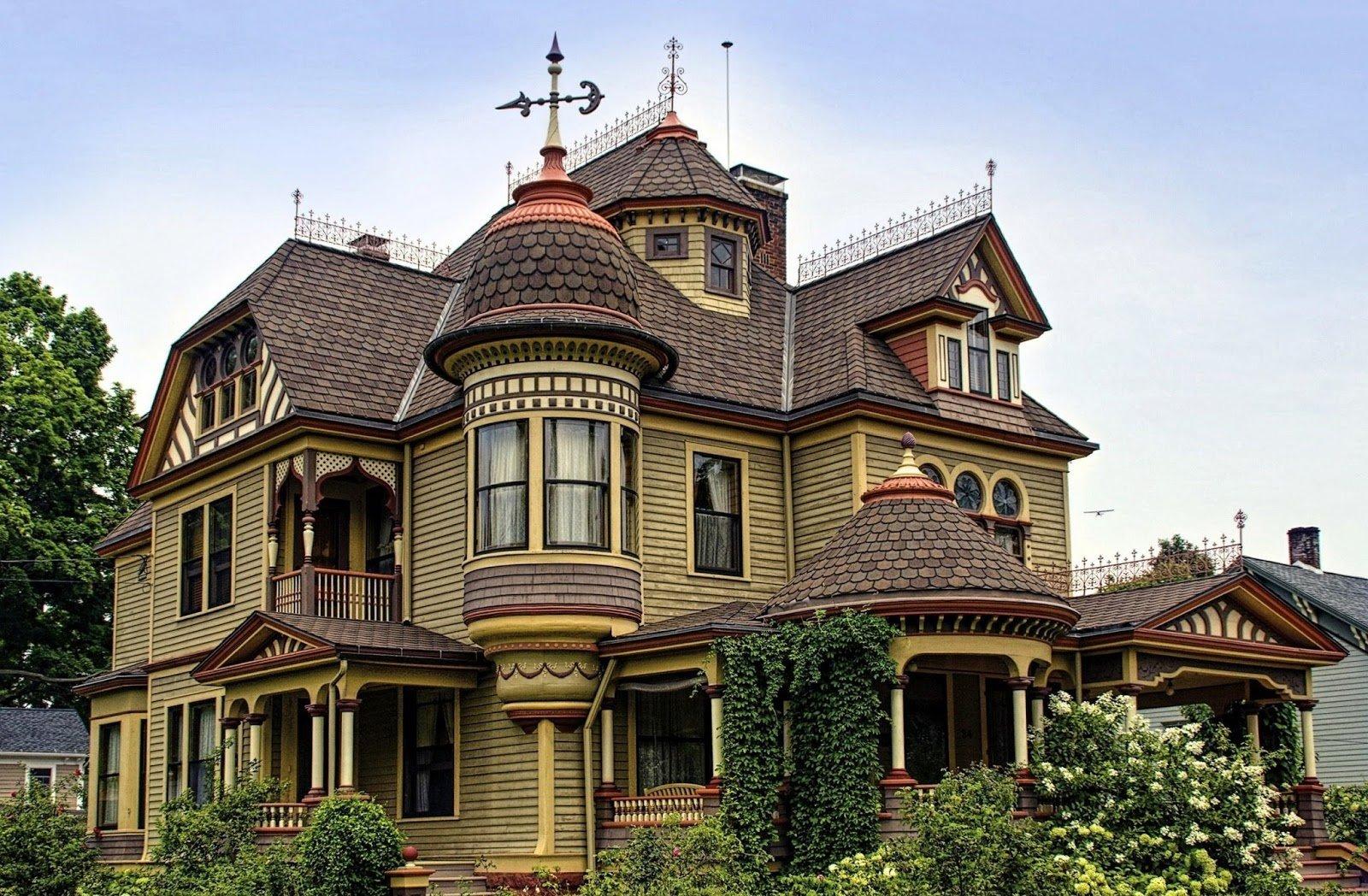 Самые красивые дома в россии фасад фото