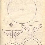 Круглый стол чертеж