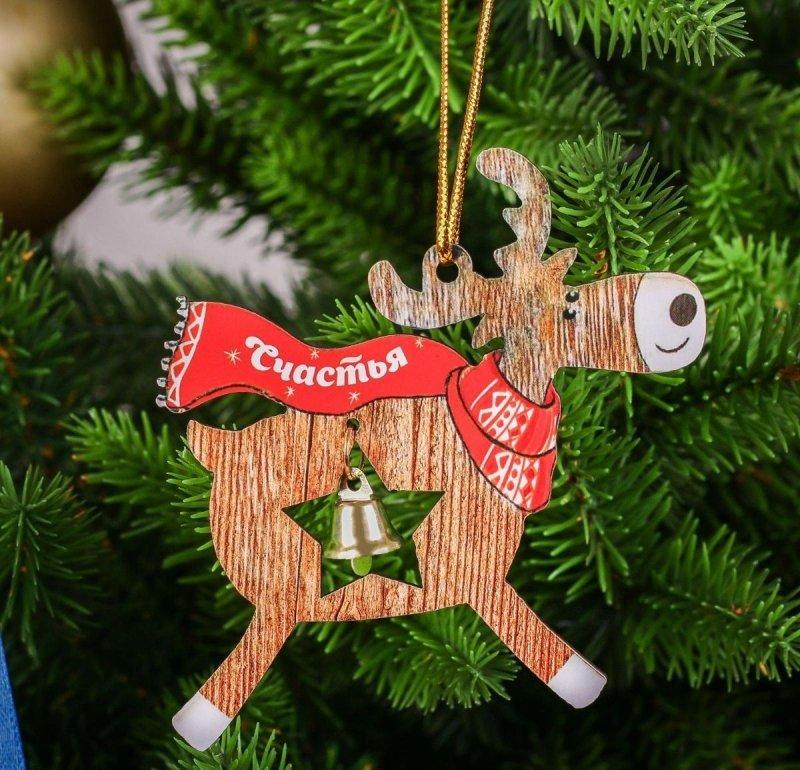 новогодние деревянные игрушки на елку фото сохраненные