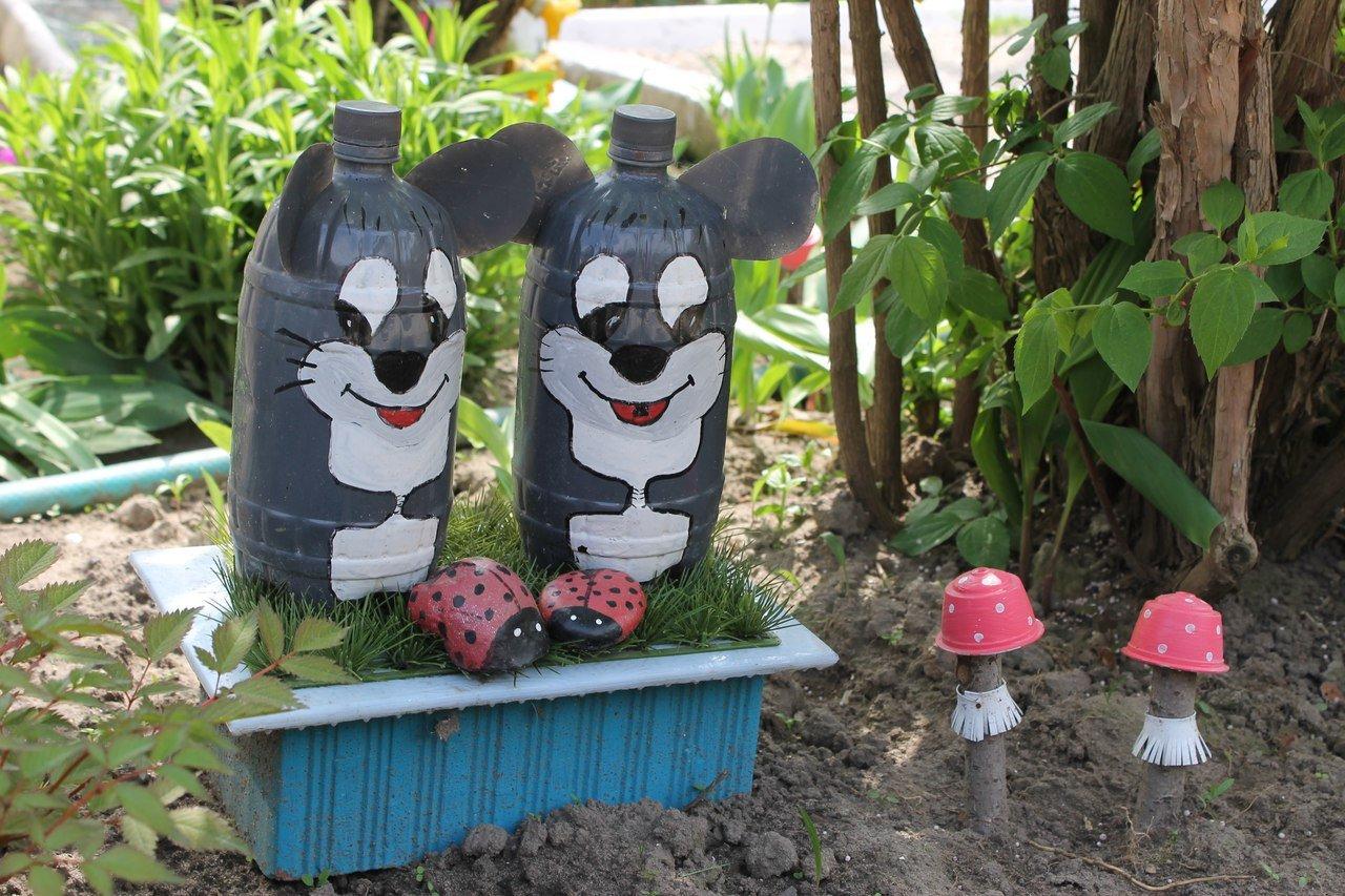 рассказывают, поделки из пластика для сада фото белоруссии дала