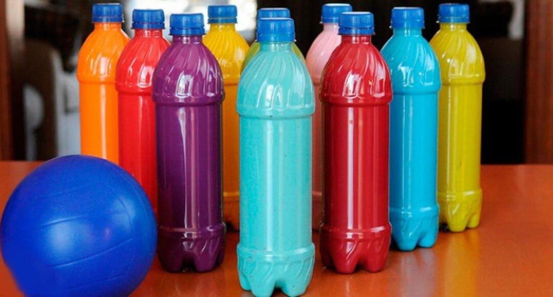 Боулинг из бутылок