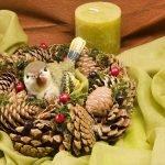 Птица в гнезде