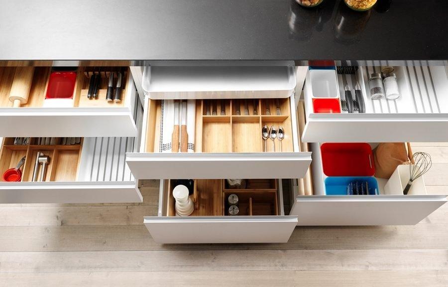 Системы хранения на кухне