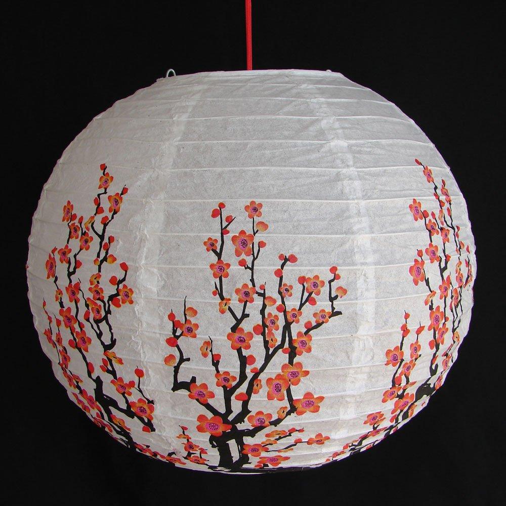 Светильник из рисовой бумаги