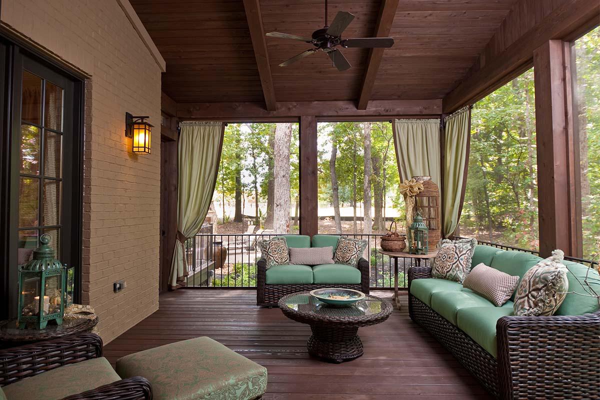 Летняя гостиная на террасе