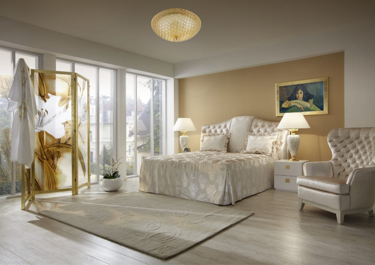 Идеи по оформлению спальни в бежевом цвете
