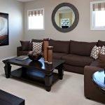 Дизайн интерьера в бежево-коричневых тонах фото