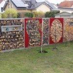 Забор из дров