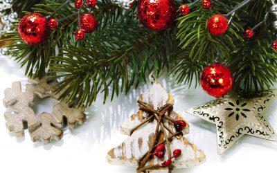 Елочные украшения и игрушки на Новый год