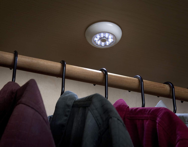 Подсветка гардероба фото