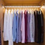 Варианты подсветки в гардеробной
