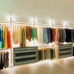 Варианты освещения гардеробной