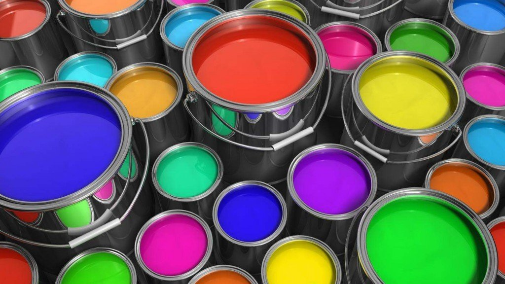Выбор краски для ванной комнаты