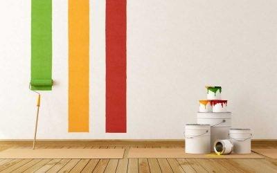 Покраска ванной комнаты: 50 фото идей